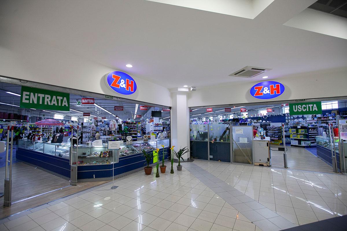 negozio Z&H al Centro Guadagna